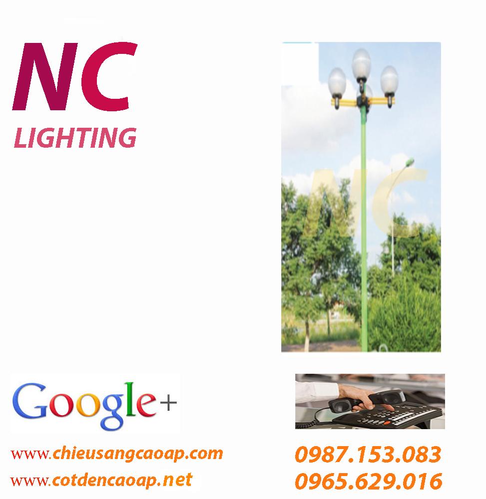 cột đèn trang trí sân vườn alequin