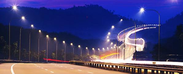 Hệ thống đèn led chiếu sáng đường phố