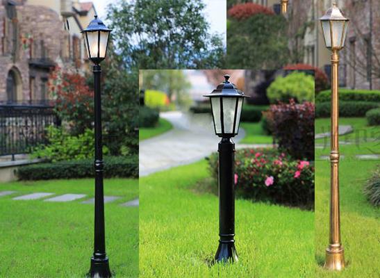 đèn trang trí sân vườn hoàng gia