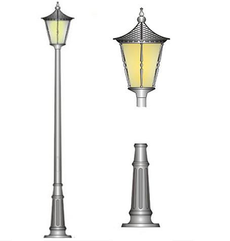 đèn sân vườn hoàng gia