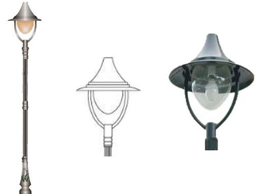 đèn sân vườn miria