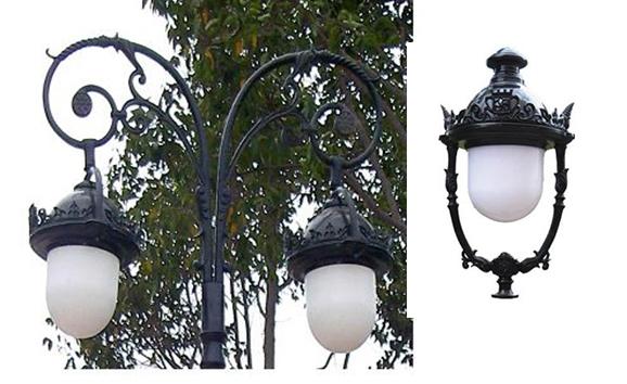 đèn sân vườn nữ hoàng