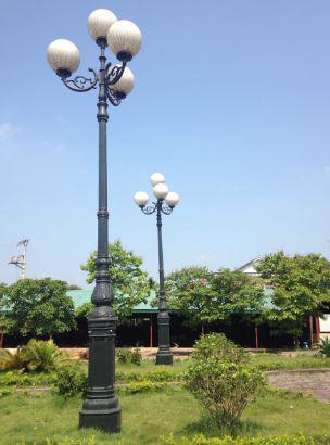 tay đèn trang trí sân vườn nc lighting