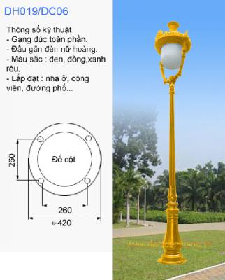 Cột Đèn Sân Vườn Tại Bắc Ninh