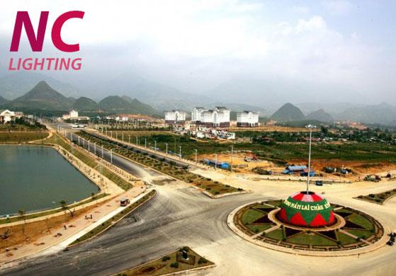 Bán cột đèn cao áp tại Lai Châu