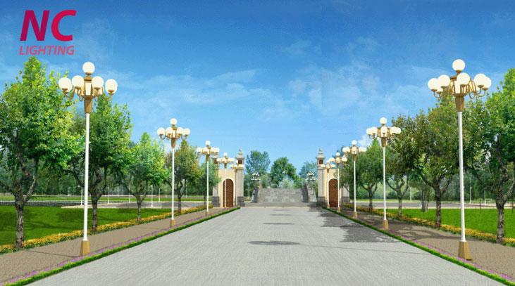 Bán cột đèn sân vườn tại Lạng Sơn