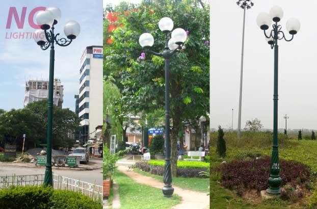Báo giá cột đèn sân vườn tại Hà Tĩnh