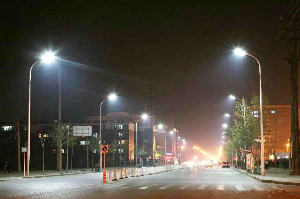 Cột đèn cao áp tại Hà Nam