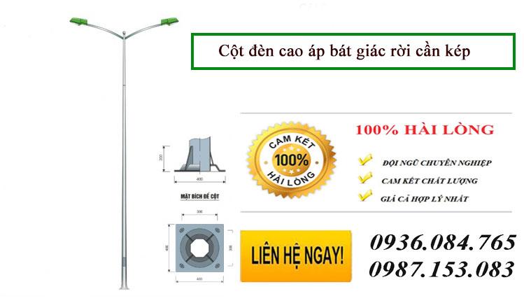 Cột đèn cao áp tại Hà Nội