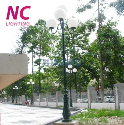 Cột đèn sân vườn tại Ninh Bình