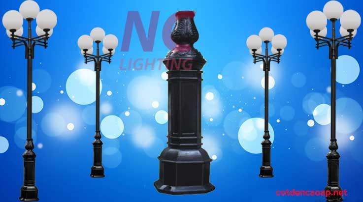 Cột đèn sân vườn giá rẻ Nghệ An