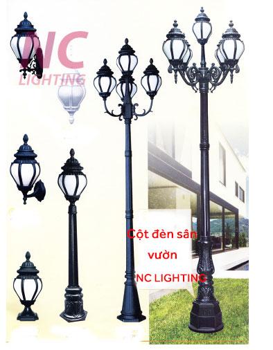 Cột đèn sân vườn nc lighting