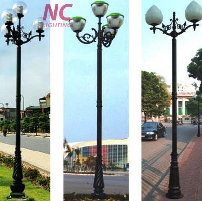 Cột đèn sân vườn tại Lạng Sơn