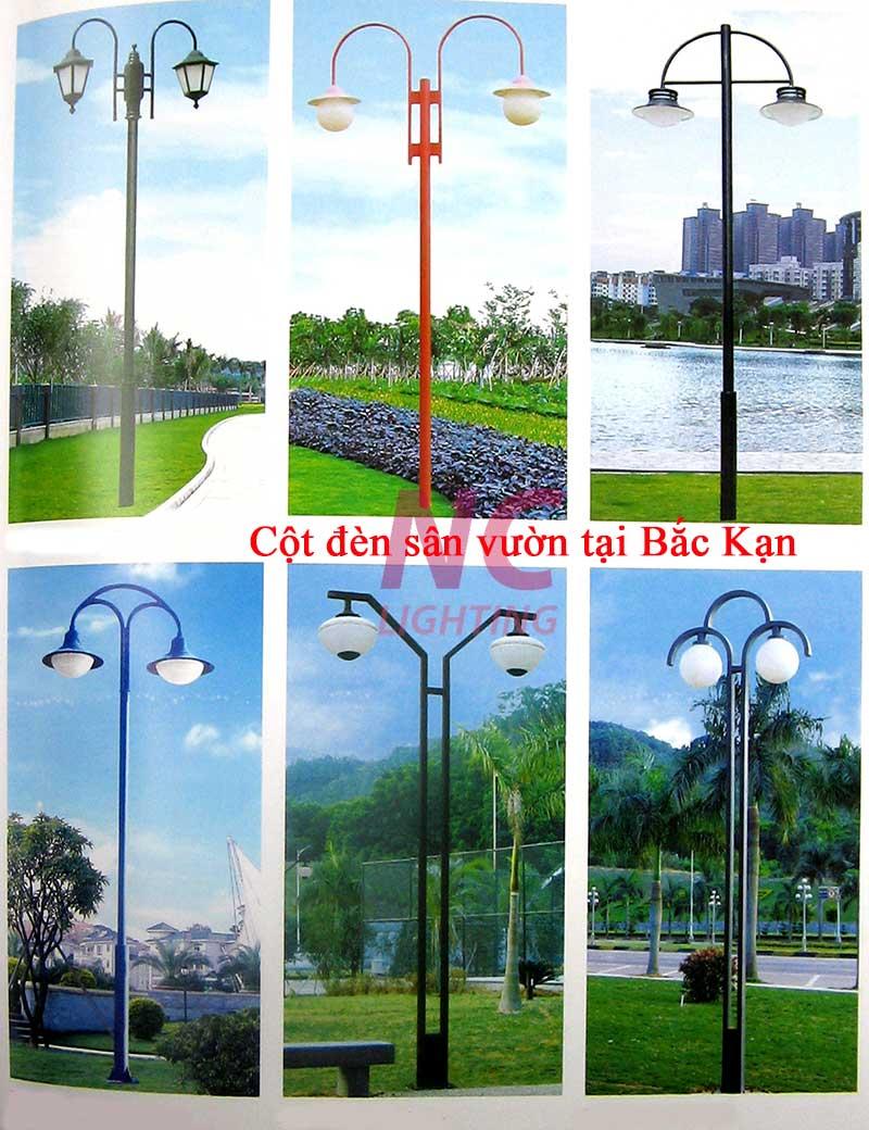 Cột đèn sân vườn tại Bắc Kạn