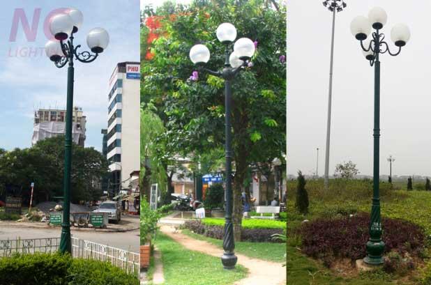 Cột đèn sân vườn tại Cao Bằng