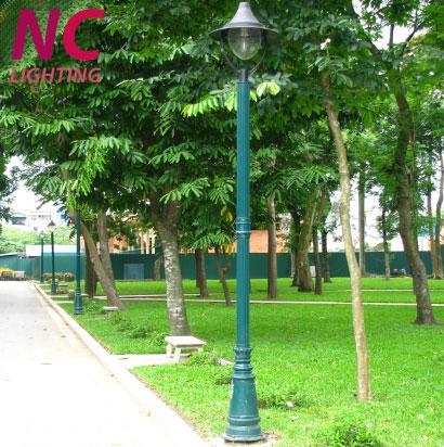 Cột đèn sân vườn tại Hà Giang