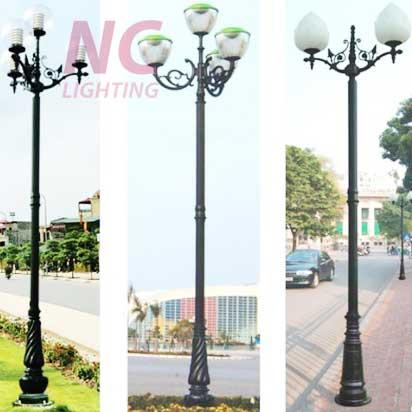 Cột đèn sân vườn tại hà Tĩnh