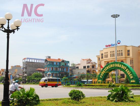 cột đèn sân vườn tại Hưng Yên giá