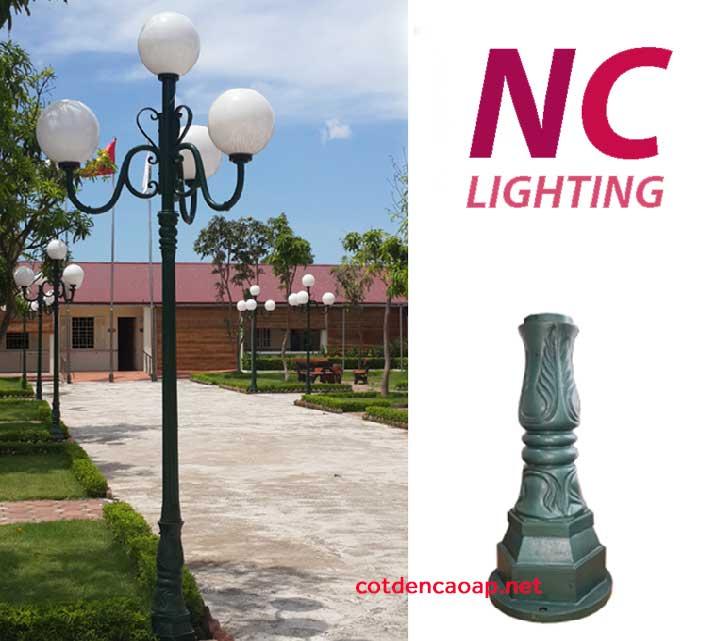 Cột đèn sân vườn tại Lào Cai