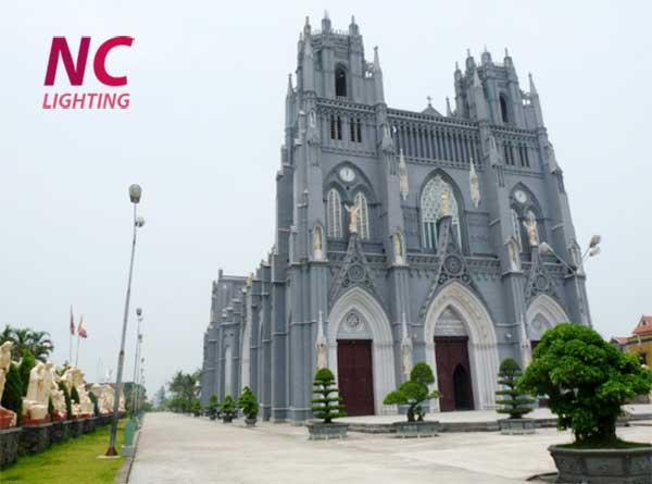 cột đèn sân vườn tại Nam Định