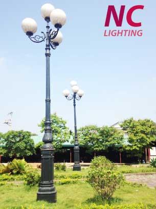 cột đèn sân vườn tại nghệ an