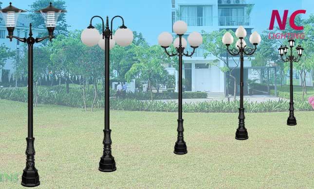 Cột đèn sân vườn tại Yên Bái