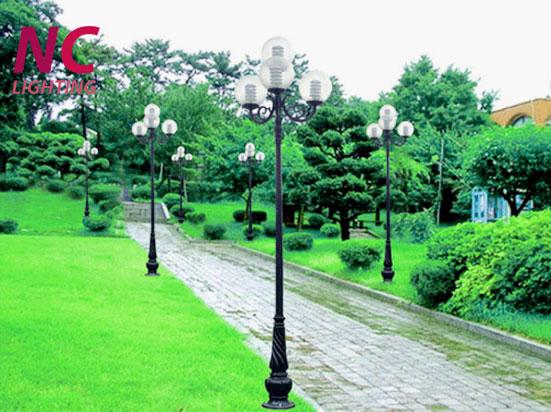 Địa chỉ mua cột đèn sân vườn tại Sơn La