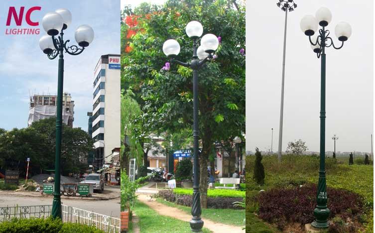 Mua cột đèn sân vườn tại Điện Biên