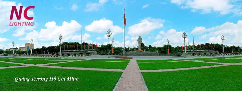 mua cột đèn sân vườn tại Nghệ An