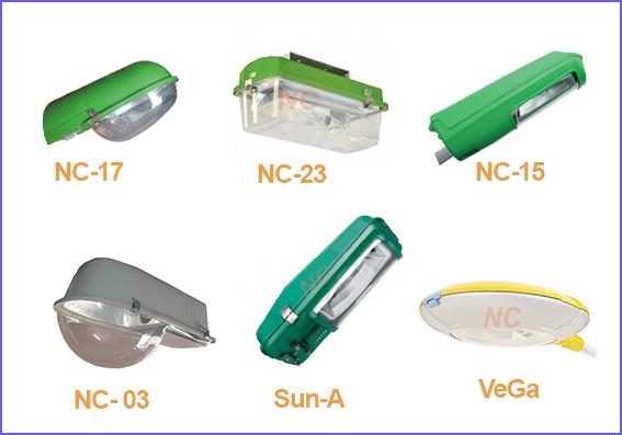 Các loại đèn cao áp NCLIGHTING