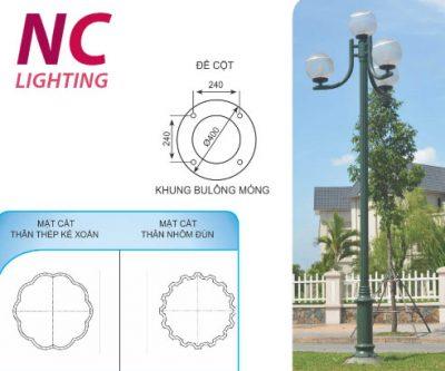Báo giá cột đèn trang trí sân vườn NOUVO