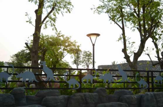 Báo giá cột đèn sân vườn kiểu con mắt
