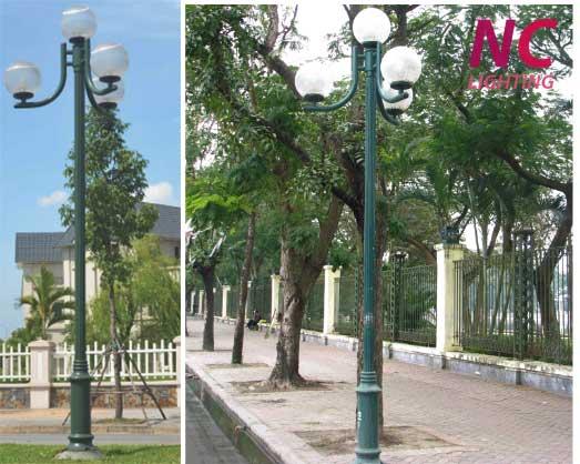 báo giá cột đèn sân vườn NOUVO