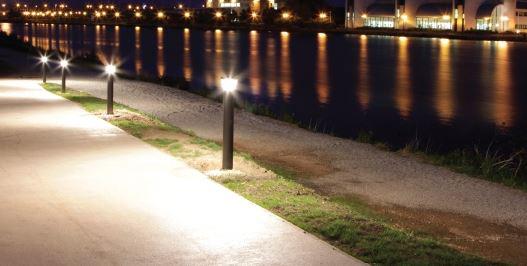 đèn trang trí sân vườn nấm
