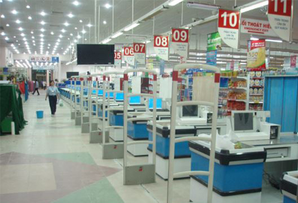 Chiếu sáng trung tâm mua sắm