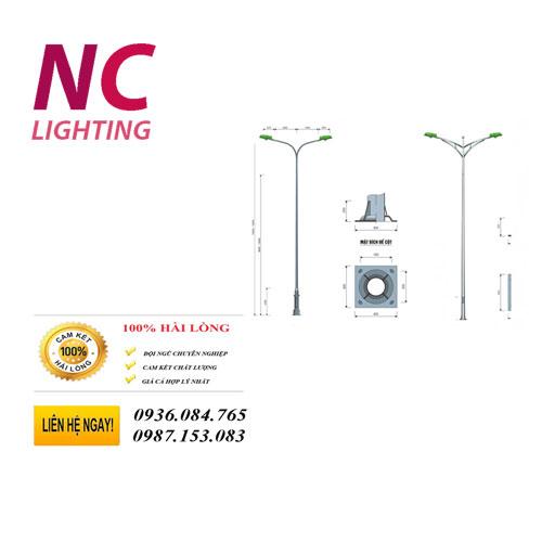 cột đèn cao áp 6m giá rẻ
