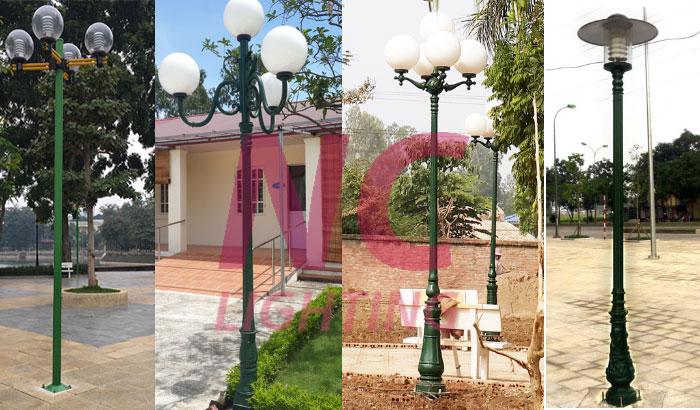 cột đèn sân vườn giá rẻ