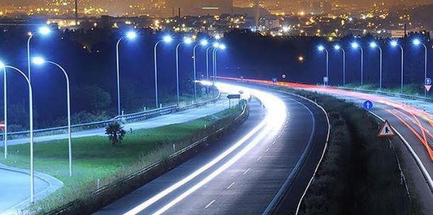 Đèn đường led 200w chiếu sáng đường phố