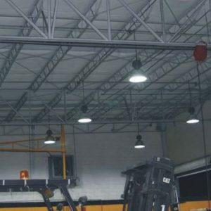 Đèn led chiếu sáng nhà máy công nghiệp