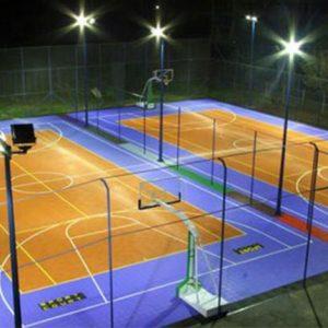 Hệ thống đèn chiếu sáng sân thể thao