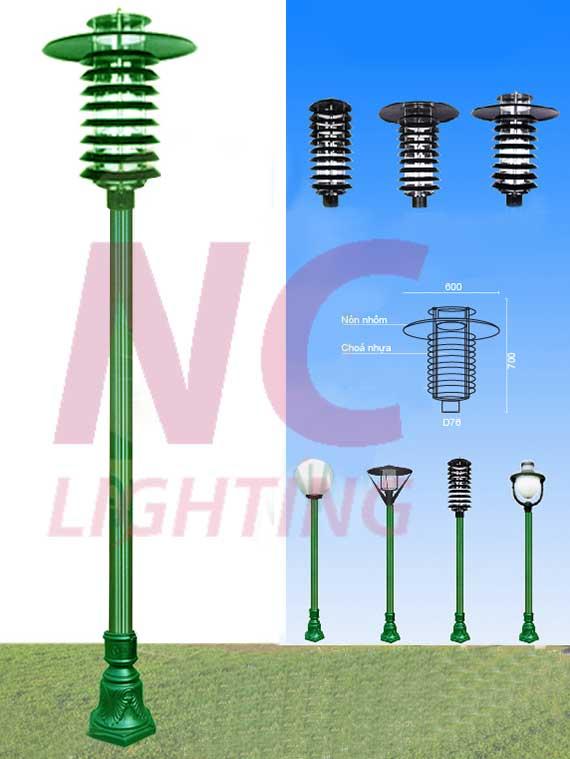 đèn sân vườn mẫu mã đẹp