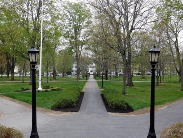 đèn sân vườn trang trí công viên