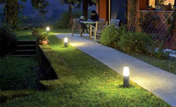 đèn nấm trang trí sân vườn