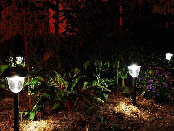 đèn trang trí công viên