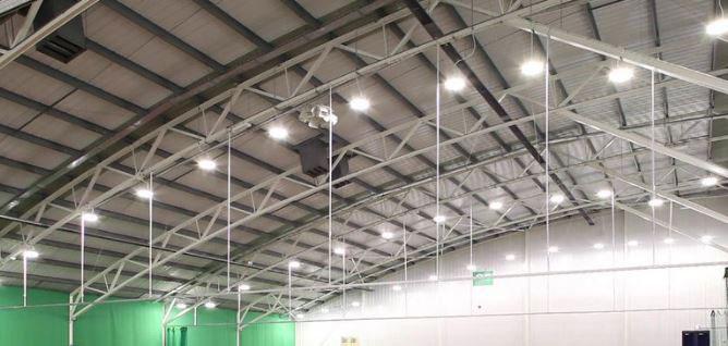 Đèn led high bay chiếu sáng trong công nghiệp