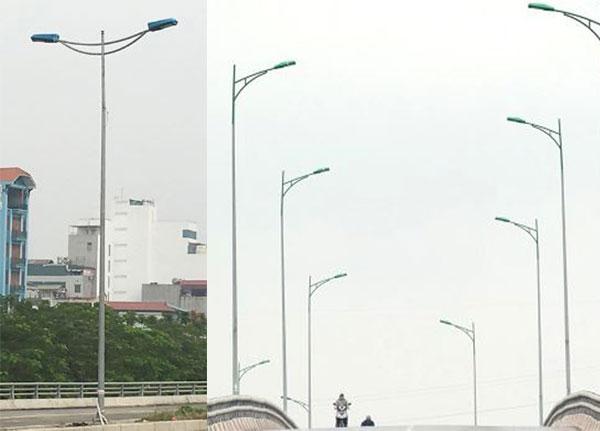 Trụ đèn chiếu sáng đường phố