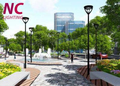 Trụ đèn trang trí công viên nên chọn loại nào?