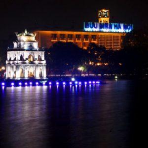 Hình ảnh đèban-den-pha-led-400wn pha led chiếu sáng hồ hoàn kiếm